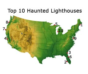 Point Sur, Big Sur is one of the Top 10 Haunted Lighthouses in the United States