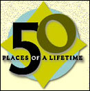 National Geographic 50 places of a lifetime